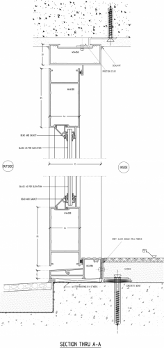 DOUBLE-HINGED-DOOR-SECTION-A-A