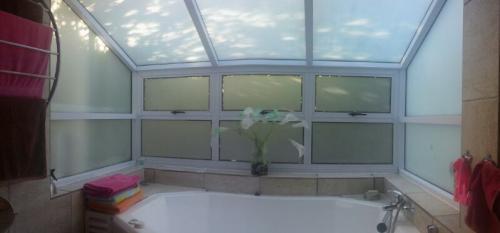 aluminium casement window top hung conservatory and atrium combination window