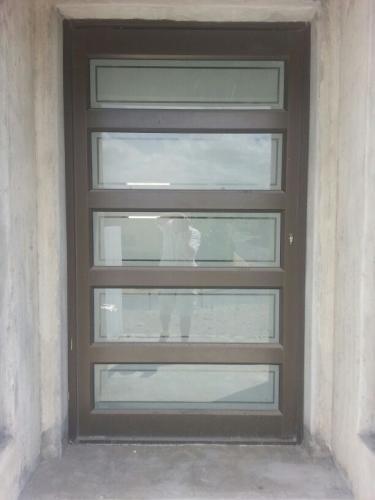Hinged Aluminium Door