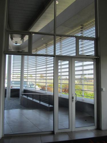 eurostyle shopfront hinged doors