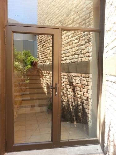 hinged swing aluminim door